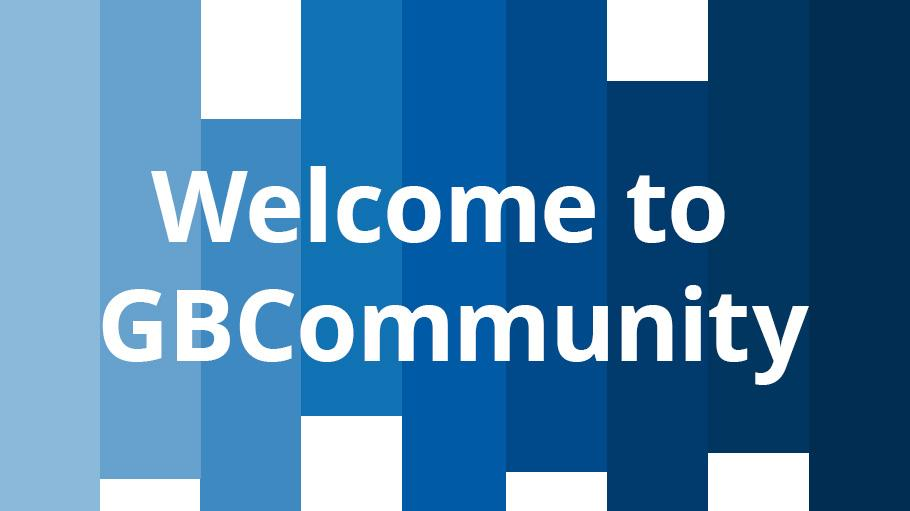 Welcome to GBCommunity
