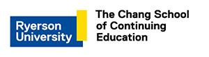 Ryerson University and The Chang School of Continuing Education logo