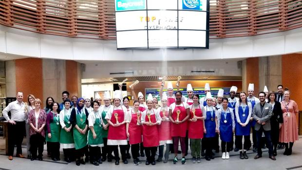 Top Chef Dysphagia 2020 participants
